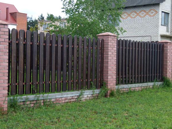 Металические заборы в Оренбурге