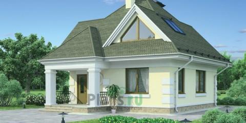 Проект под строительство дома мансардный этаж