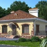 Дом с раздельным санузлом АС-09-А 93 КВ.М