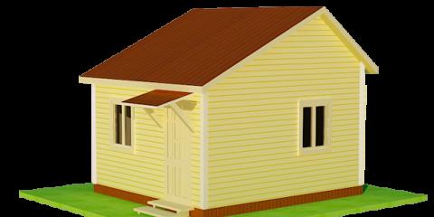 Дачный дом общей площадью 19 кв.м