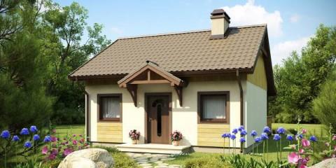 Дачный дом площадью 23,3 кв.м