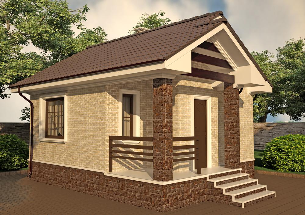 Строник - Проекты домов и коттеджей до 5 кв м