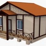 Дачный дом с котельной