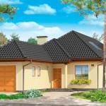 Мансардный дом проект