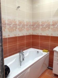 Ремонт в ванной комнате по улице Мира Оренбург