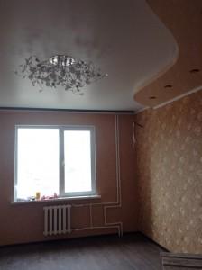Натяжной потолок в квартире по улице Мира