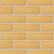 Плитка клинкерная фасадная, 240x71x10мм, Песочный накат ДУБ