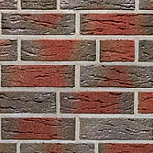 Плитка клинкерная фасадная, 240x71x10мм, ВУЛКАН, накат Скала