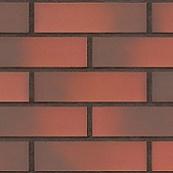 Плитка клинкерная фасадная, 240x71x10мм, Вулкан, накат ДУБ
