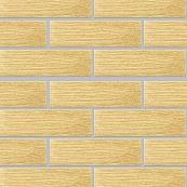 Плитка клинкерная фасадная, 240x71x10мм, Ваниль, накат Бамбук горизонтальный