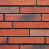 Плитка клинкерная фасадная, 240x47x10мм, Вулкан, накат ДУБ