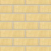 Плитка клинкерная фасадная, 240x71x10мм, Ваниль, накат Бамбук вертикальный