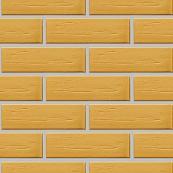 Плитка клинкерная фасадная, 240x47x10мм, Песочный, накат БЕРЕЗКА